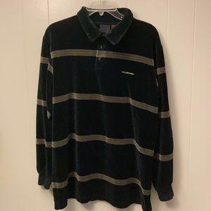 Men's Billabong Black Velour Shirt L